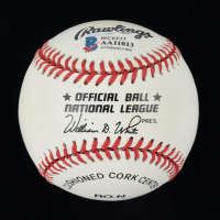 Vin Scully Signed ONL Baseball Beckett LOA) at PristineAuction.com