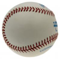 Mickey Mantle Signed OAL Gene Budig Logo Baseball (PSA LOA) (See Description) at PristineAuction.com