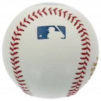 Bryce Harper Signed LE OML Career Stat Engraved Baseball (PSA Hologram) at PristineAuction.com