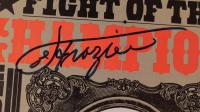 Muhammad Ali & Joe Frazier Signed 1971 Ali / Frazier Fight Program (Beckett LOA) at PristineAuction.com