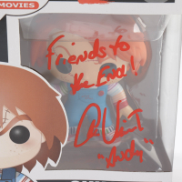 """Alex Vincent Signed """"Child's Play 2"""" #56 Funko Pop Vinyl Figure Inscribed """"Friends To The End!"""" & """"Andy"""" (JSA COA) at PristineAuction.com"""