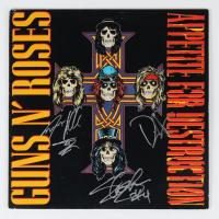 "Slash, Duff McKagan & Steven Adler Signed ""Appetite For Destruction"" Vinyl Record Album (Beckett LOA) at PristineAuction.com"