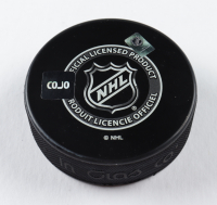 """Mike Walton Signed Maple Leafs Logo Hockey Puck Inscribed """"67 Cup"""" (COJO COA) at PristineAuction.com"""