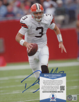 Derek Anderson Signed Browns 8x10 Photo (Beckett COA) at PristineAuction.com