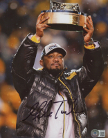 Mike Tomlin Signed Steelers 8x10 Photo (Beckett COA) at PristineAuction.com