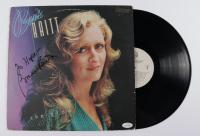 "Bonnie Raitt Signed ""The Glow"" Vinyl Record Album (AutographCOA COA) (See Description) at PristineAuction.com"