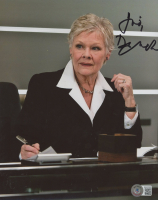Judy Dench Signed 8x10 Photo (Beckett COA) at PristineAuction.com