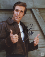 """Henry Winkler Signed """"Happy Days"""" 8x10 Photo Inscribed """"5/5/21"""" (Beckett COA) at PristineAuction.com"""