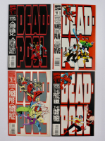 """Complete Set of (4) 1993 """"Deadpool: The Circle Chase"""" Issue #1-4 Marvel Comic Books at PristineAuction.com"""