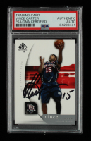 Vince Carter Signed 2005-06 SP Authentic #54 (PSA Encapsulated) at PristineAuction.com