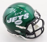 Zach Wilson Signed Jets Speed Mini-Helmet (Beckett Hologram) at PristineAuction.com