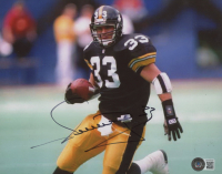 Meril Hoge Signed Steelers 8x10 Photo (Beckett COA) at PristineAuction.com