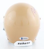 "Rudy Ruettiger Signed Notre Dame Fighting Irish Mini Helmet Inscribed ""Never Quit"" (Beckett COA) at PristineAuction.com"
