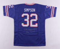 """O. J. Simpson Signed Jersey Inscribed """"The Juice"""" (JSA COA) at PristineAuction.com"""