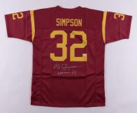 "O. J. Simpson Signed Jersey Inscribed ""Heisman 68"" (JSA COA) at PristineAuction.com"