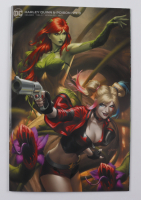 """2020 LE  """"Harley Quinn & Poison Ivy"""" Issue #3 Ejikure Variant Exclusive Cover DC Comic Book at PristineAuction.com"""