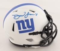 Daniel Jones Signed Giants Lunar Eclipse Alternate Speed Mini Helmet (JSA COA) at PristineAuction.com