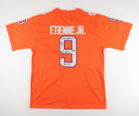 Travis Etienne Signed Clemson Tigers Jersey with Multiple Inscriptions (Beckett COA) at PristineAuction.com