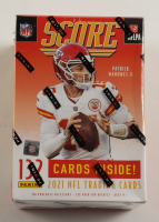2021 Panini Score Football Blaster Box with (11) Packs at PristineAuction.com