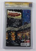 "2013 ""Amazing Spider-Man"" Issue #700 50th Anniversary Variant Marvel Comic Book Signed by (5) with Stan Lee, Joe Quesada, Edgar Delgado, Dan Slott & Humerto Ramos (CGC Encapsulated - Graded 9.2) at PristineAuction.com"