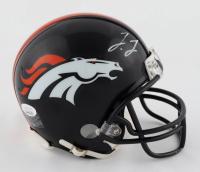 Jerry Jeudy Signed Broncos Mini Helmet (JSA COA) at PristineAuction.com