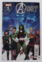 """2016 """"A-Force"""" Issue #1 Marvel Comic Book at PristineAuction.com"""