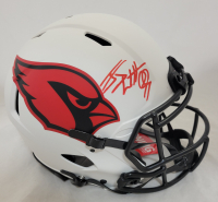 J. J. Watt Signed Cardinals Full-Size Lunar Eclipse Alternate Authentic On-Field Speed Helmet (JSA Hologram & Watt Hologram) at PristineAuction.com