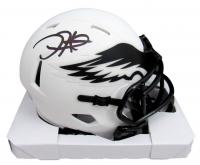 Jalen Hurts Signed Eagles Lunar Eclipse Alternate Speed Mini Helmet (PSA COA) at PristineAuction.com