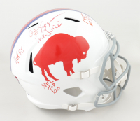 O. J. Simpson Signed Bills Full-Size Speed Helmet With Multiple Inscriptions (JSA COA) at PristineAuction.com