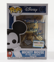 """Bret Iwan Signed Disney Diamond Collection #01 Mickey Mouse Funko Pop! Vinyl Figure Inscribed """"Mickey Mouse"""" (Beckett COA) at PristineAuction.com"""