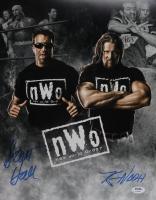 "Scott Hall & Kevin Nash Signed ""n.W.o"" 11x14 Photo (PSA COA) at PristineAuction.com"