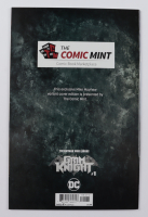 """2019 LE """"The Batman Who Laughs: The Grim Knight"""" Issue #1 Mike Mayhew Minimal Variant DC Comic Book at PristineAuction.com"""