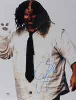 "Mick Foley Signed ""Mankind"" 11x14 Photo (PSA COA) at PristineAuction.com"