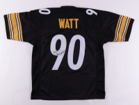 T. J. Watt Signed Jersey (Beckett COA) at PristineAuction.com