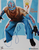 Rey Mysterio Signed 11x14 Photo (PSA COA) at PristineAuction.com