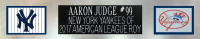 Aaron Judge Signed 35x43 Custom Framed Jersey Display (Fanatics Hologram & MLB Hologram) at PristineAuction.com
