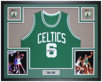 Bill Russell Signed 35x43 Custom Framed Jersey Display (JSA COA & Russell Hologram) at PristineAuction.com