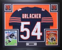 Brian Urlacher Signed 35x43 Custom Framed Jersey Display (JSA COA) at PristineAuction.com