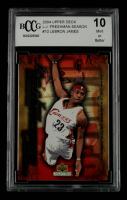 LeBron James 2004 Upper Deck LeBron James Freshman Season #10 (BCCG 10) at PristineAuction.com