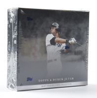 2021 Topps x Derek Jeter Baseball Card Box with (10) Cards at PristineAuction.com