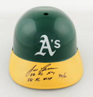 Jose Canseco Signed Athletics Full-Size Batting Helmet with Multiple Stat Inscriptions (Beckett Hologram) at PristineAuction.com
