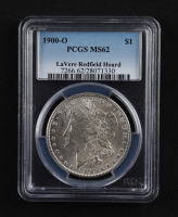 1900-O Morgan Silver Dollar - LaVere Redfield Hoard (PCGS MS62) at PristineAuction.com