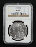1900-O Morgan Silver Dollar (NGC MS64) at PristineAuction.com