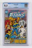 "1993 ""New Titans"" Issue #98 DC Comic Book (CGC 8.5) at PristineAuction.com"