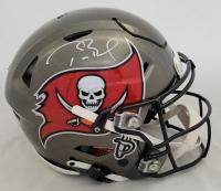 Tom Brady Signed Buccaneers Full Size Authentic On-Field Speedflex Helmet (Fanatics Hologram) at PristineAuction.com