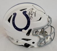 Peyton Manning Signed Colts Full Size Authentic On-Field SpeedFlex Helmet (Fanatics Hologram) at PristineAuction.com