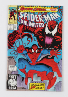 """1993 """"Spider-Man Unlimited"""" Issue #1 Marvel Comic Book at PristineAuction.com"""