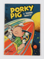 """1951 """"Porky Pig"""" Issue #322 Dell Comic Book at PristineAuction.com"""