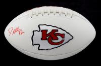 Dante Hall Signed Chiefs Logo Football (PSA Hologram) at PristineAuction.com