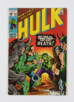 """1971 """"Hulk"""" Issue #139 Marvel Comic Book at PristineAuction.com"""